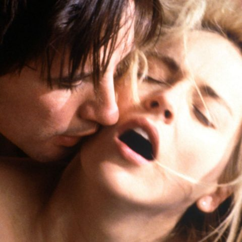 Sharon Stone and William Baldwin in Sliver