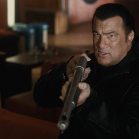 Steven Seagal in his latest movie.