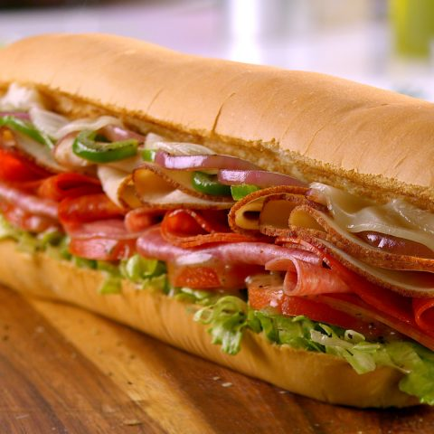 A Subway sandwich in all of its glory