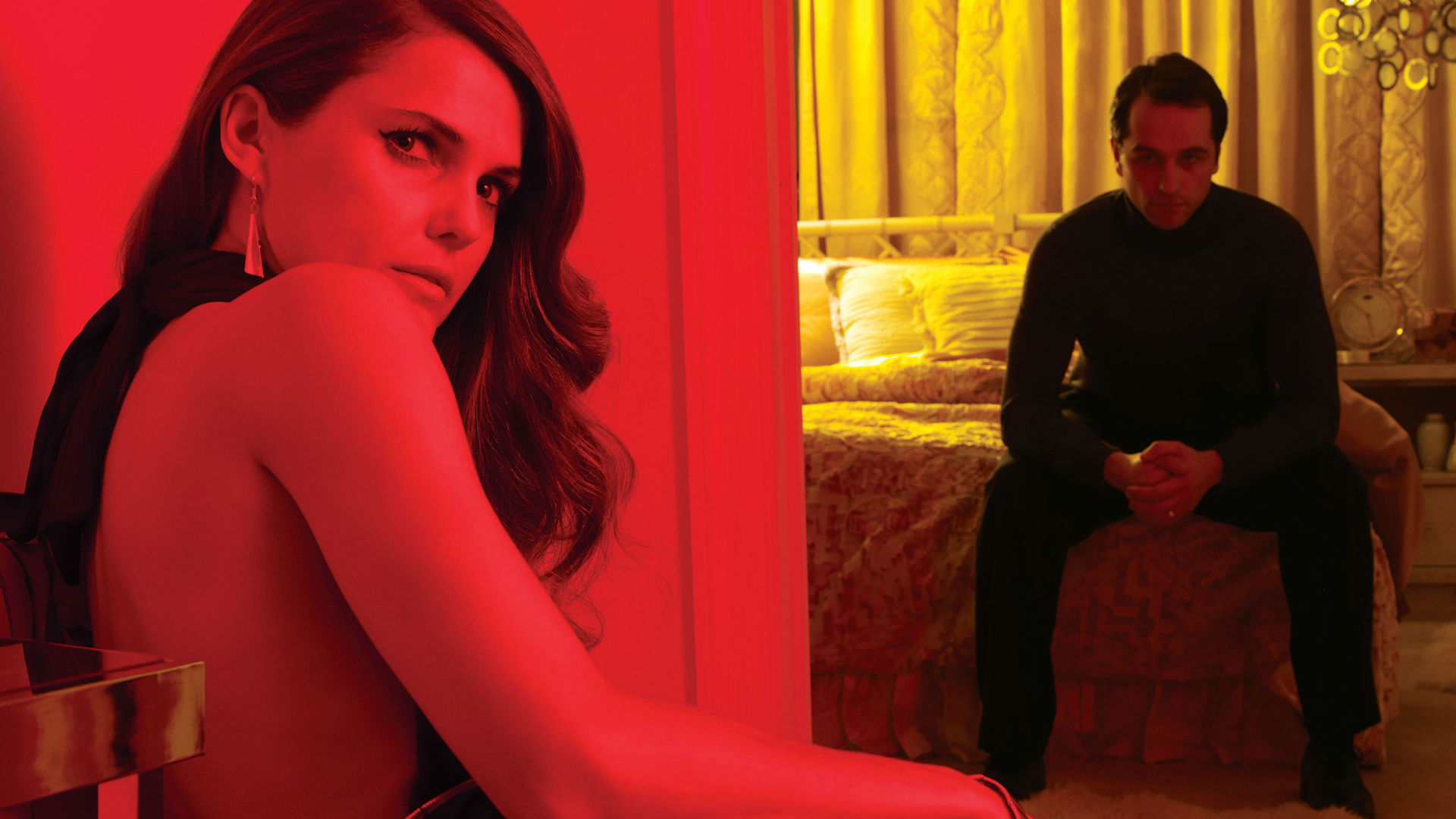 The American Keri Russell and Matthew Rhys