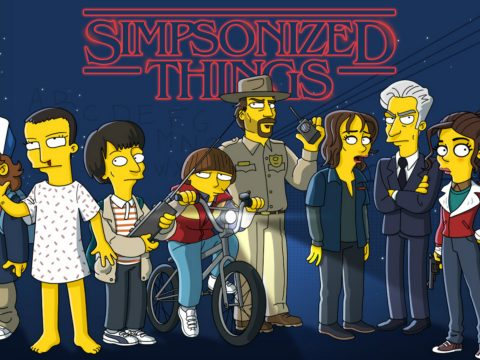 The Simpsons version of Stranger Things