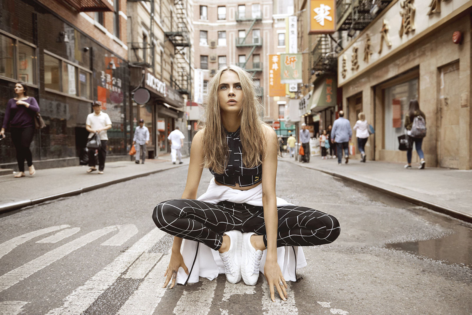 Cara Delevingne models for Puma's Do You women's campaign