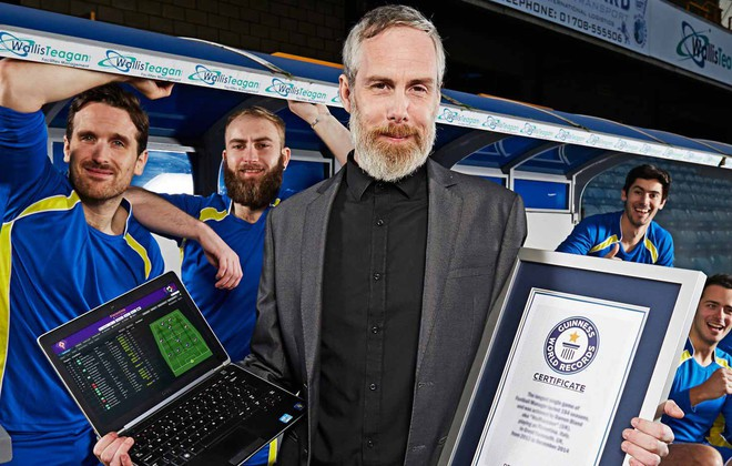 A Football Manager world record breaker.