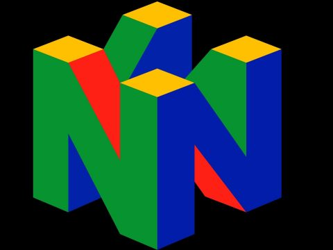 The Nintendo 64 logo.