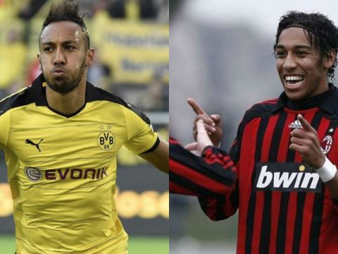 Pierre-Emerick Aubameyang before and after.