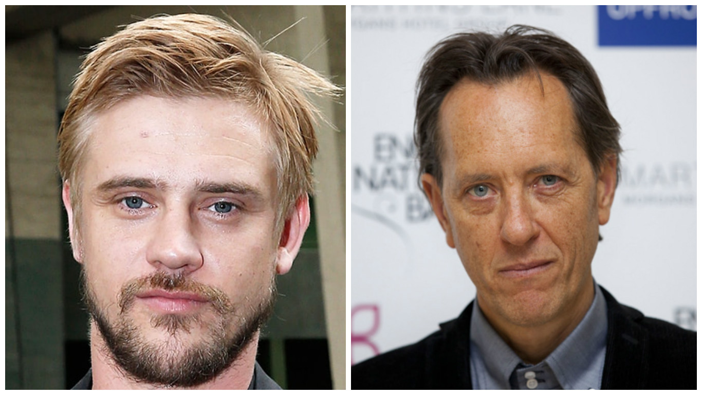 Boyd Holbrook and Richard E Grant.