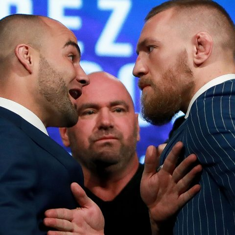 Conor McGregor Eddie Alvarez UFC 205 press conference
