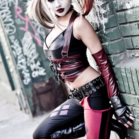Harley Quinn cosplay Kitty Young