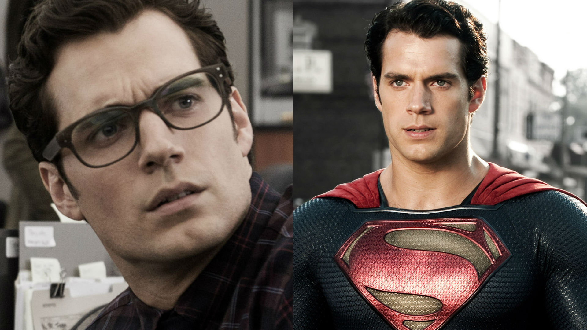 Henry Cavill as Clark Kent and Superman