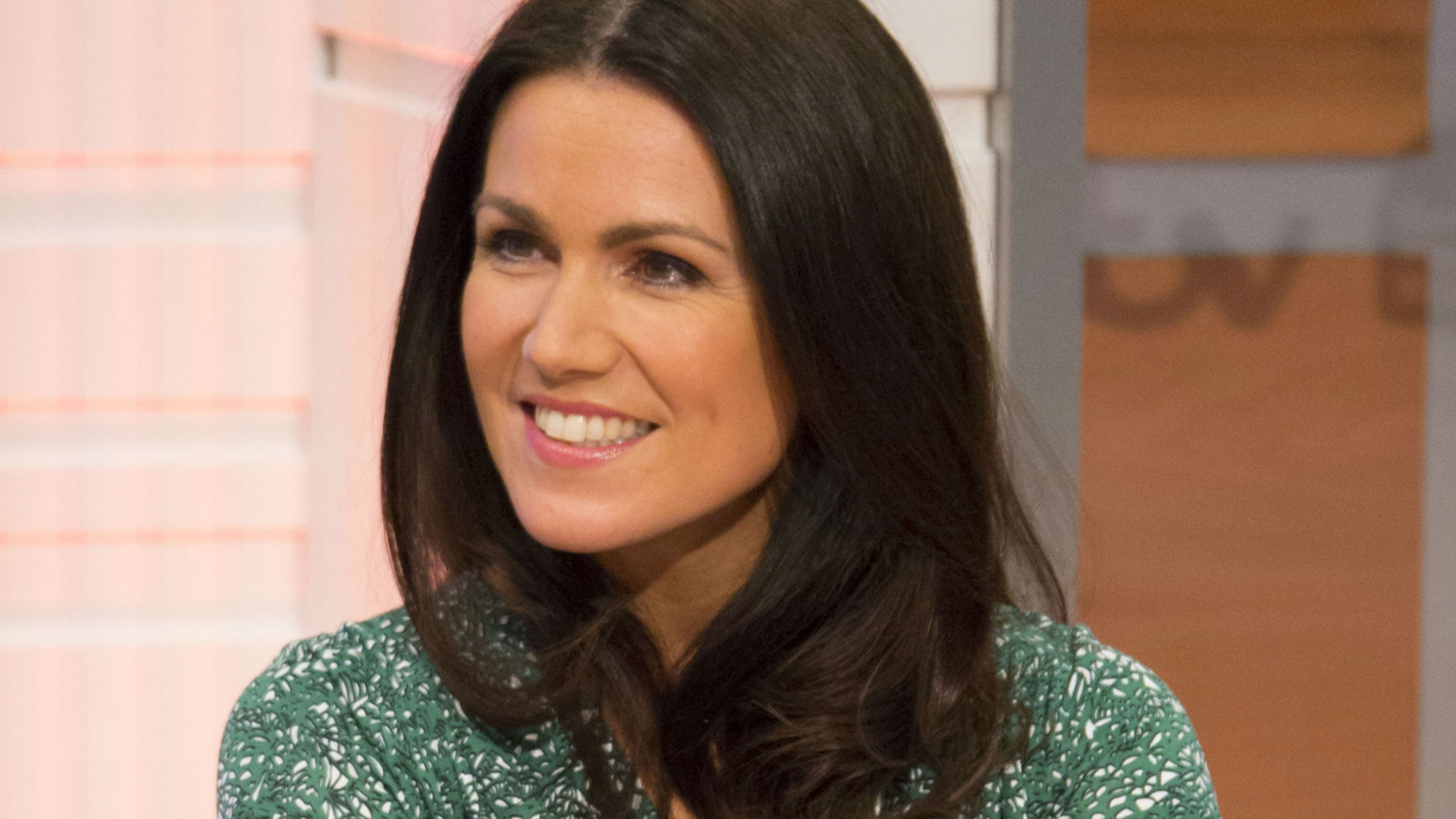 Susanna Reid presenting Good Morning Britain
