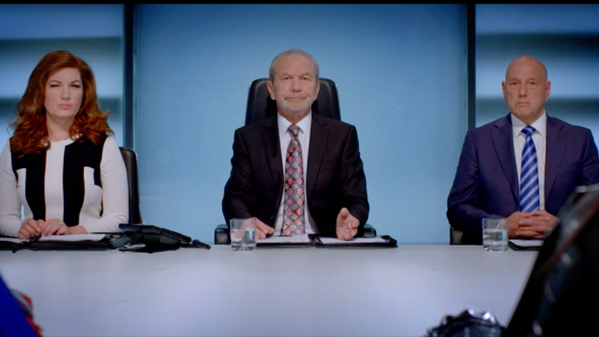Lord Alan Sugar on The Apprentice.