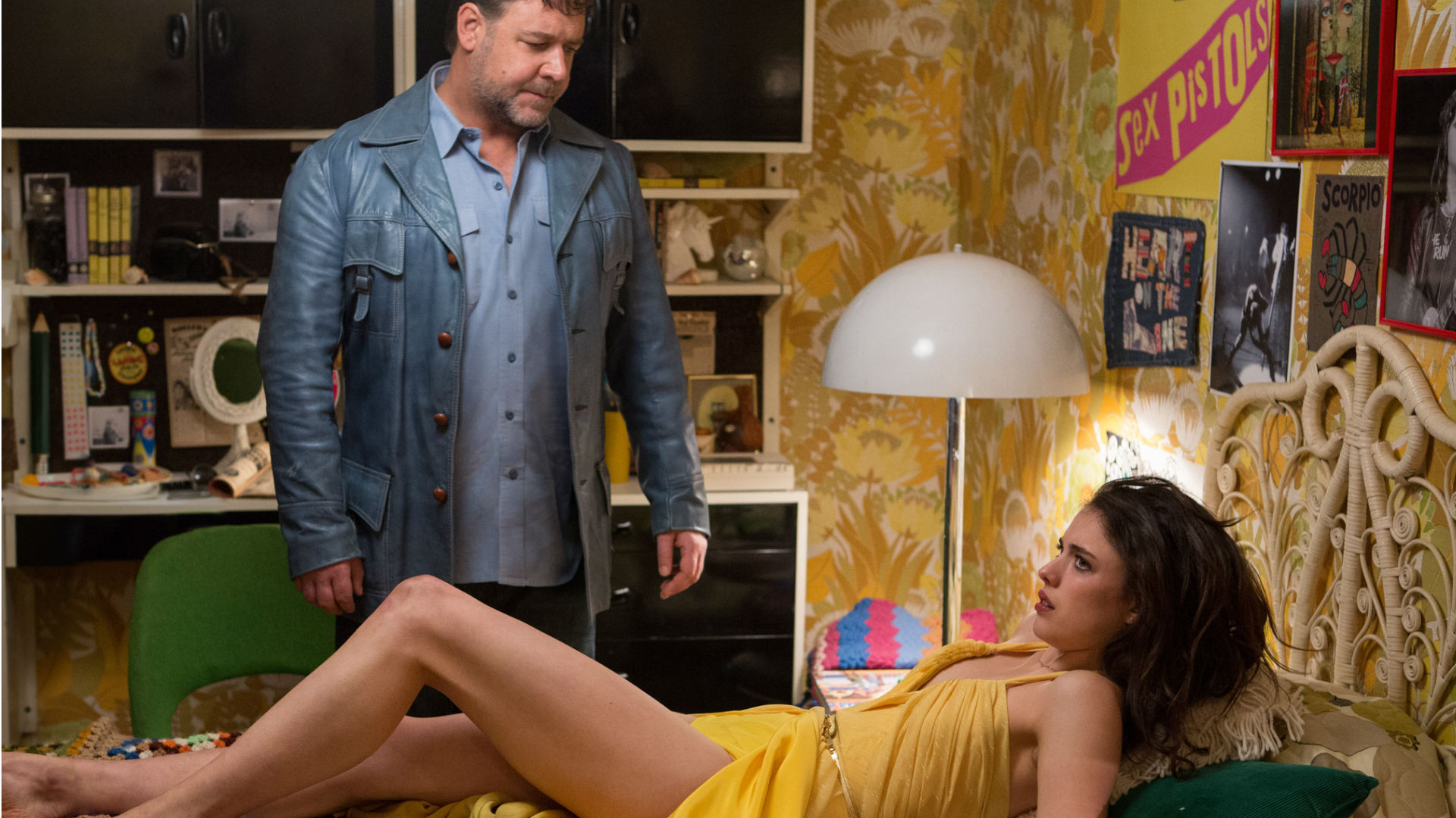 The Nice Guys Russell Crowe Margaret Qualley