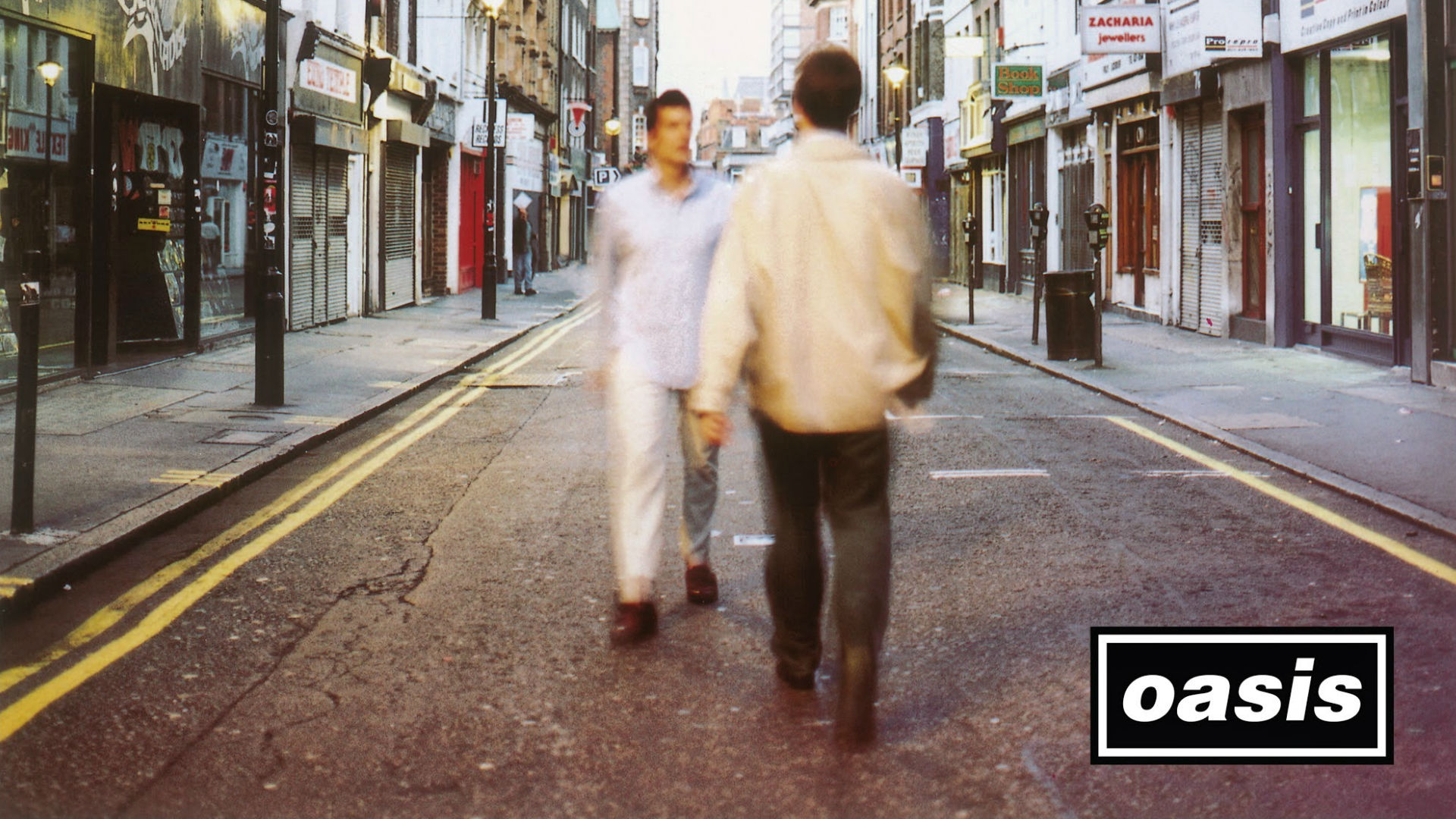 Oasis (What's the Story) Morning Glory? album cover