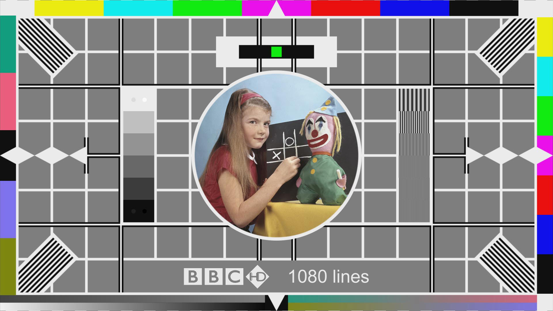 BBC Test Card F