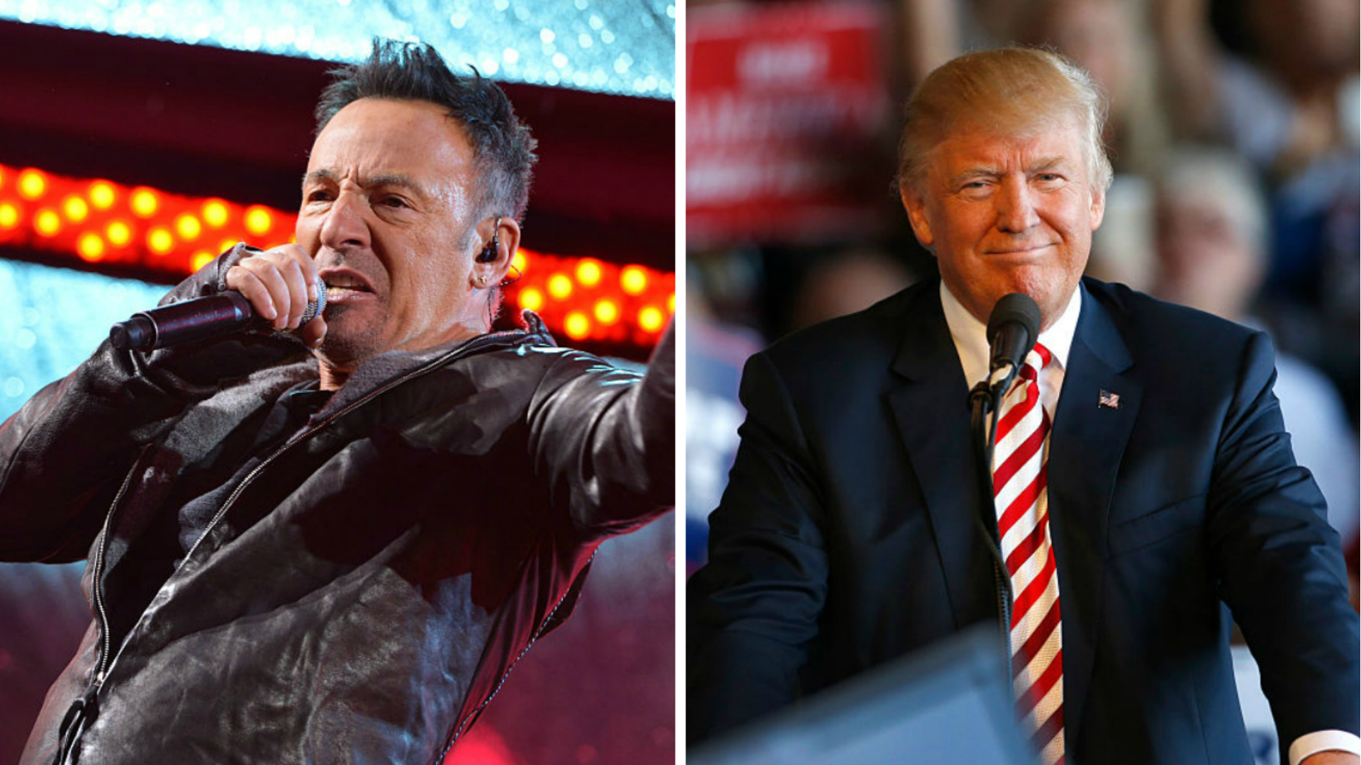 Bruce Springsteen hates Donald Trump