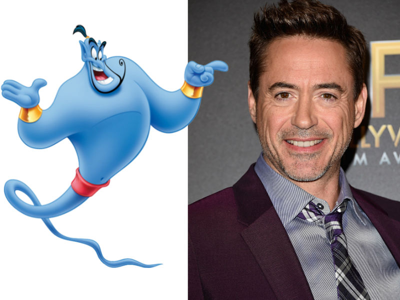 Genie/Robert Downey jr.