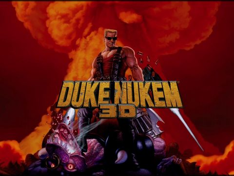 Artwork from the original Duke Nukem 3D.