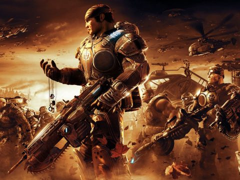 Gears of War on the Xbox.