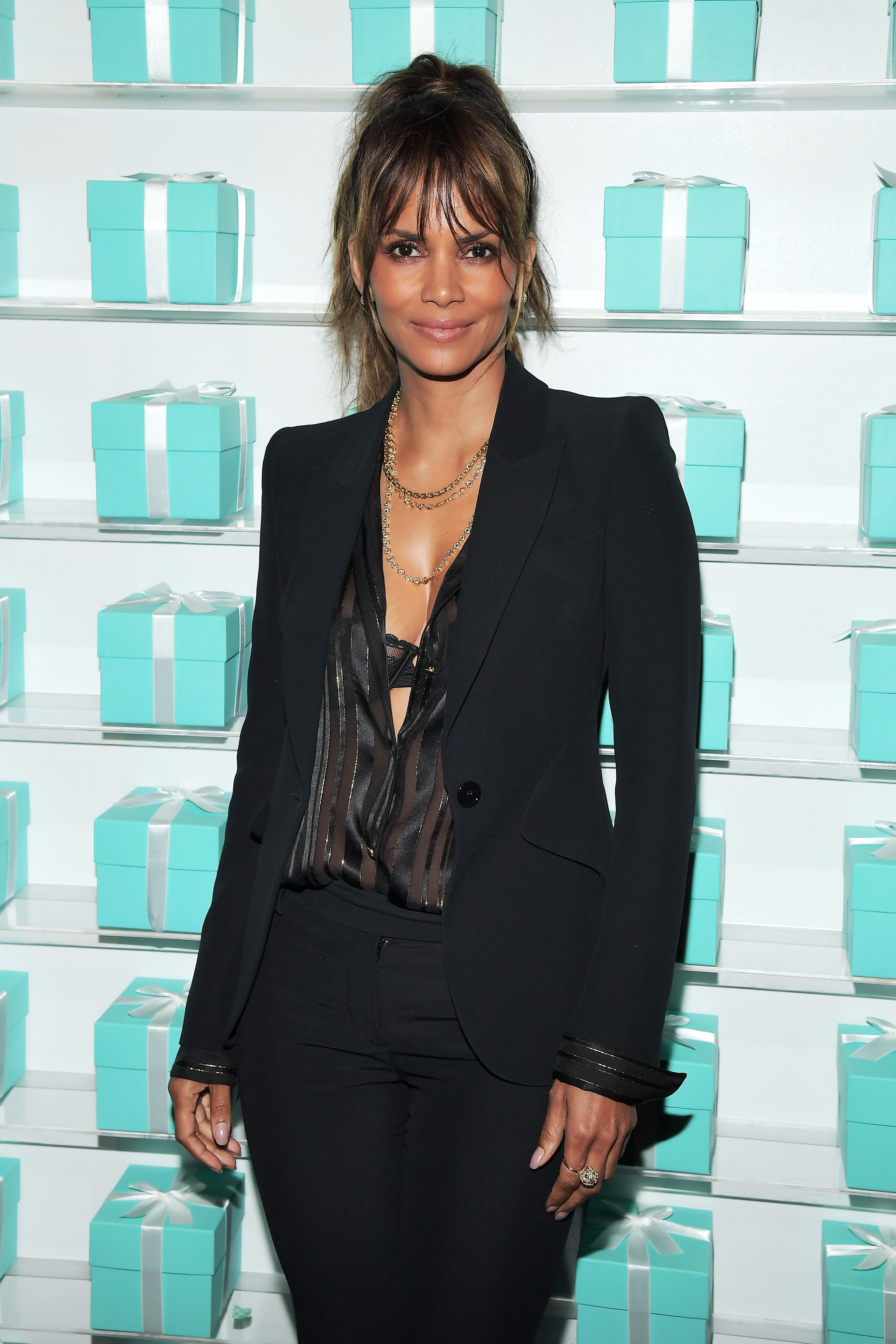 Accidentally on purpose halle berry exposes bra in sexy - Maria gallay ...