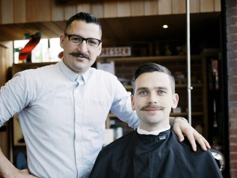 An image from Movember.