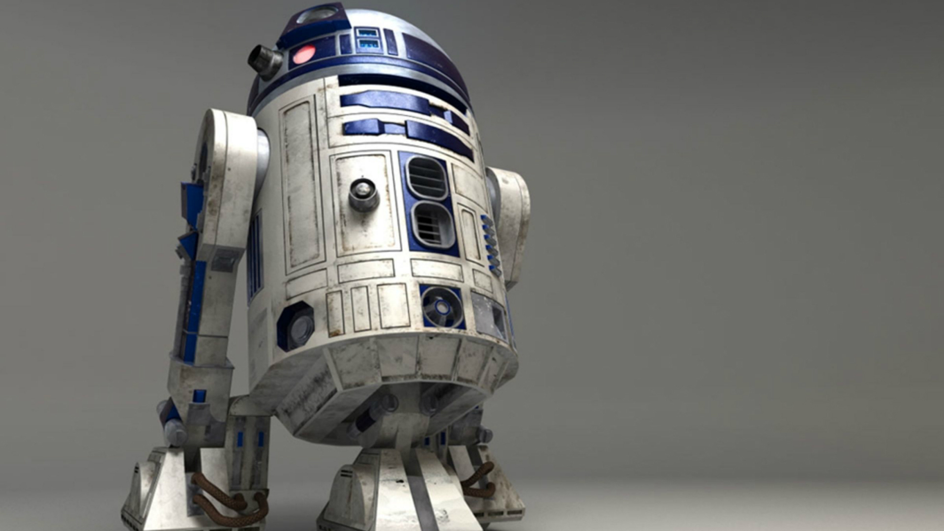 R2-D2, the iconic robot from Star Wars.