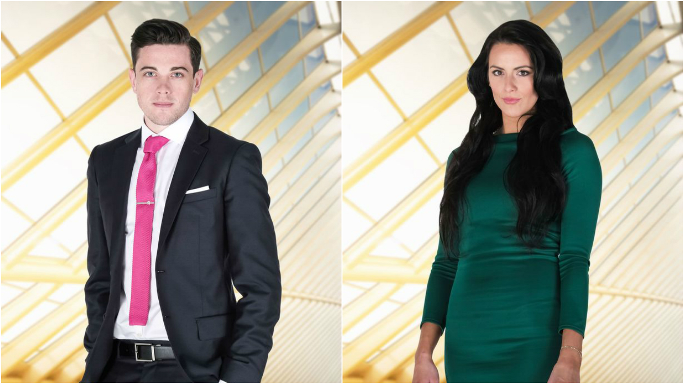 Courtney Wood and Jessica Cunningham from The Apprentice.