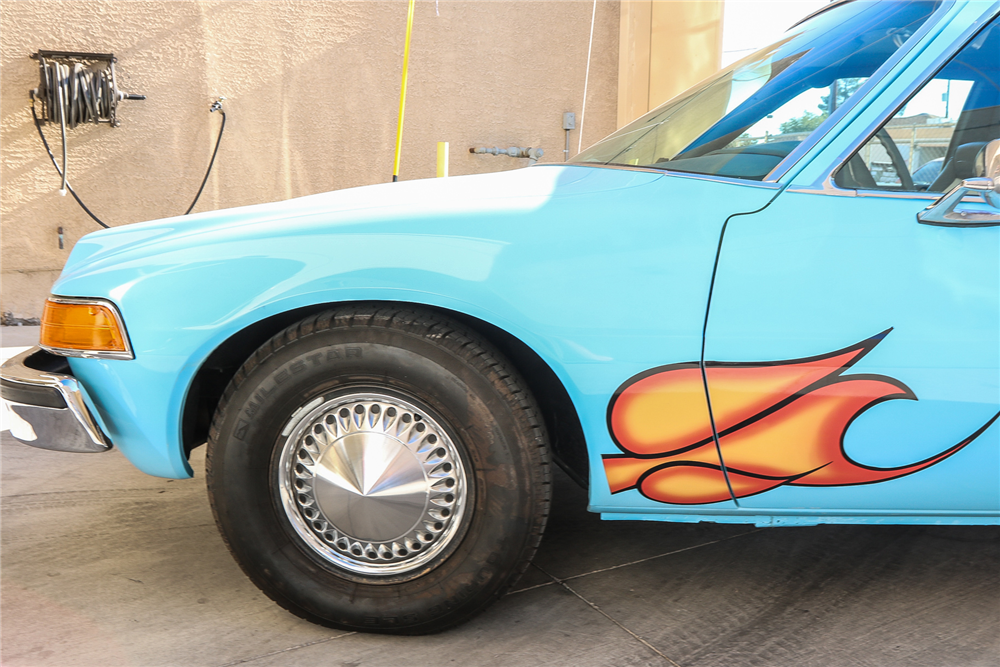 The Wayne's World car from the iconic movie.