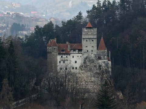 Castle Bran in Transylvania, Romania