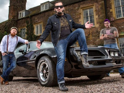 Jesse McClure Is back with British Treasure American Gold