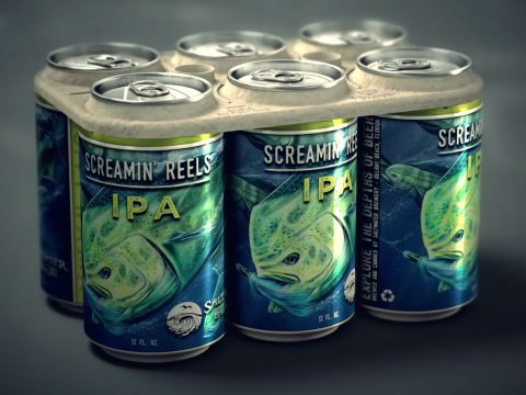 Screamin Reels IPA edible plastic rings