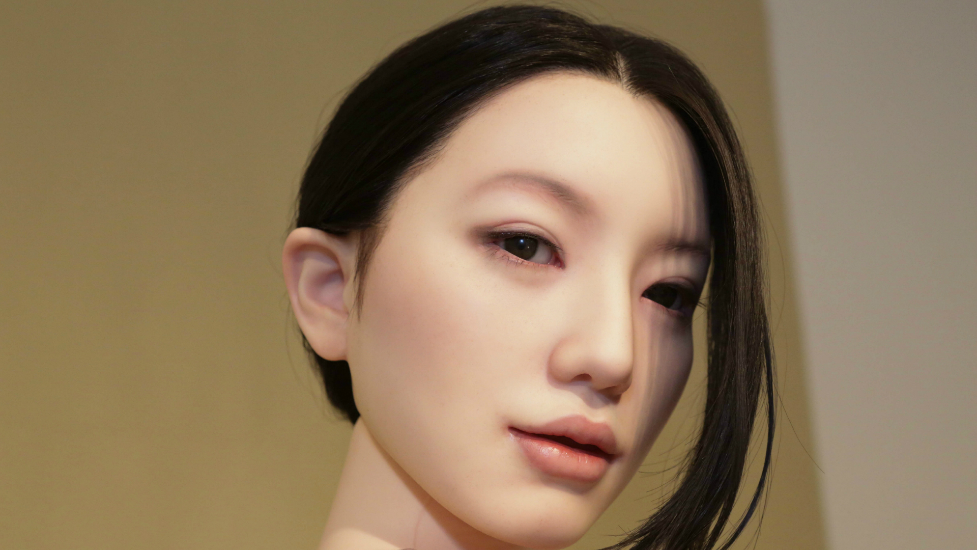 A Japanese sex doll.
