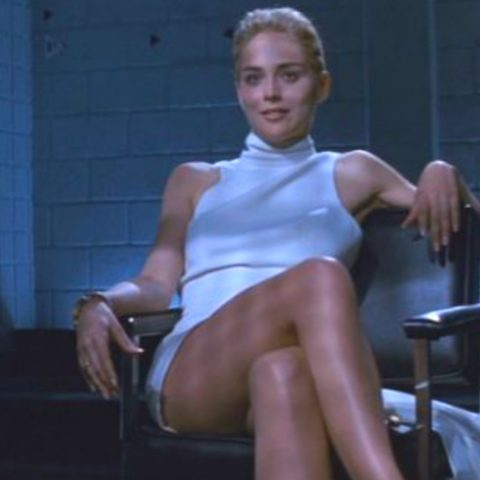 Sharon Stone's Basic Instinct leg crossing scene