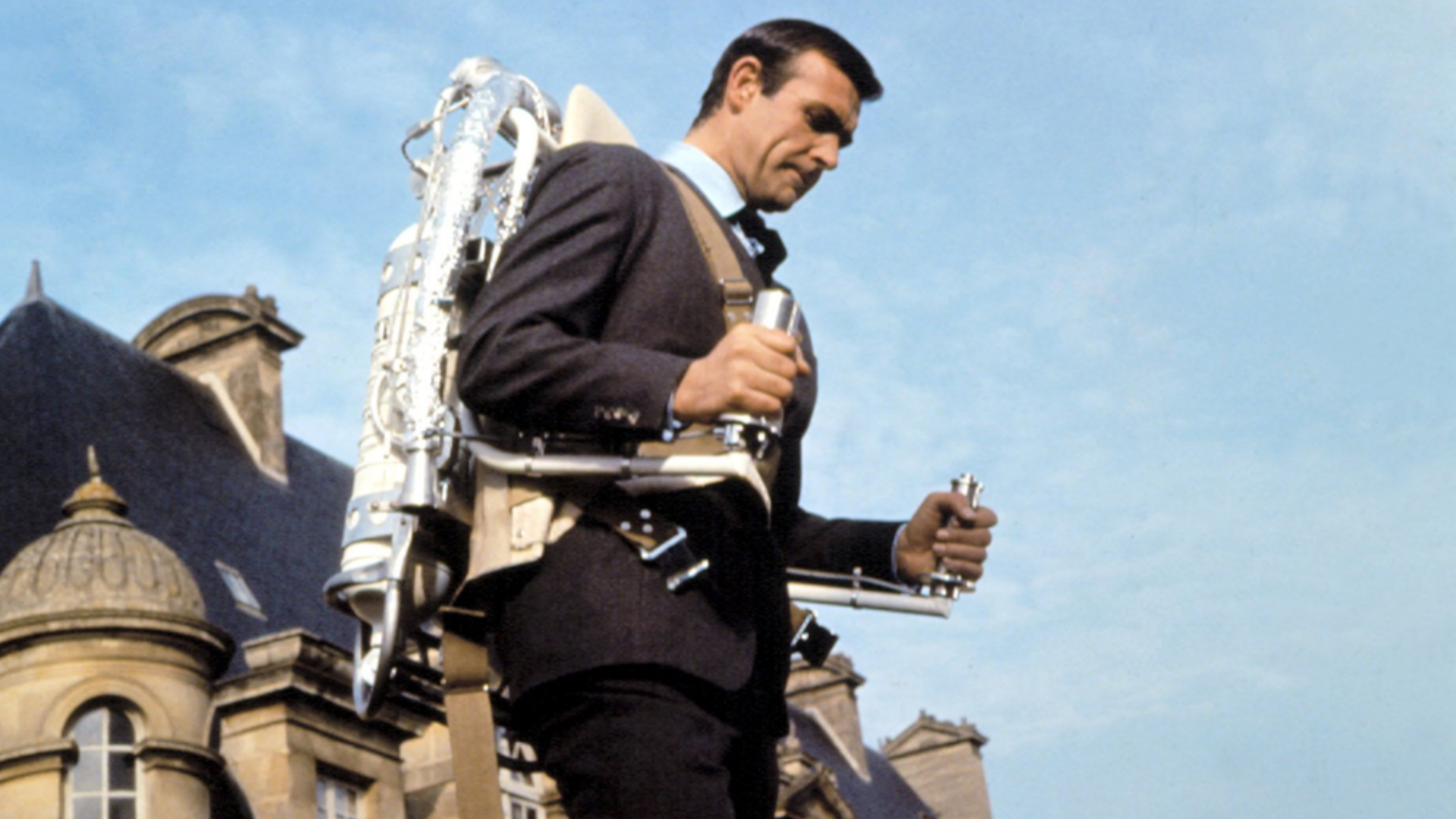 James Bond jetpack Thunderball