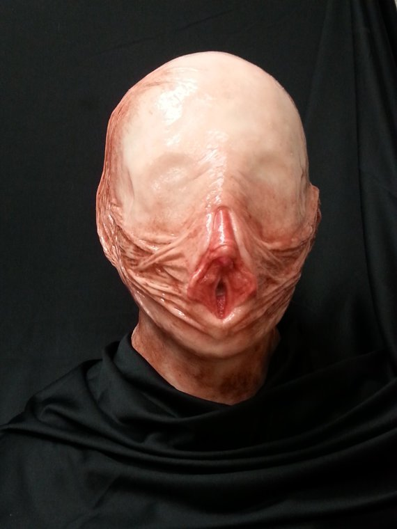 Etsy's very own vagina mask