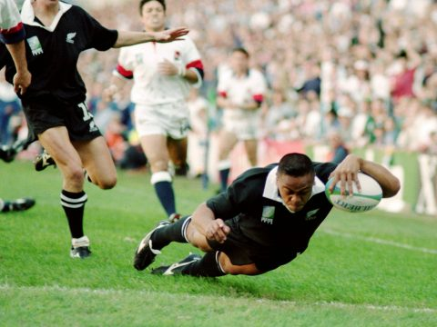 New Zealand legend Jonah Lomu.