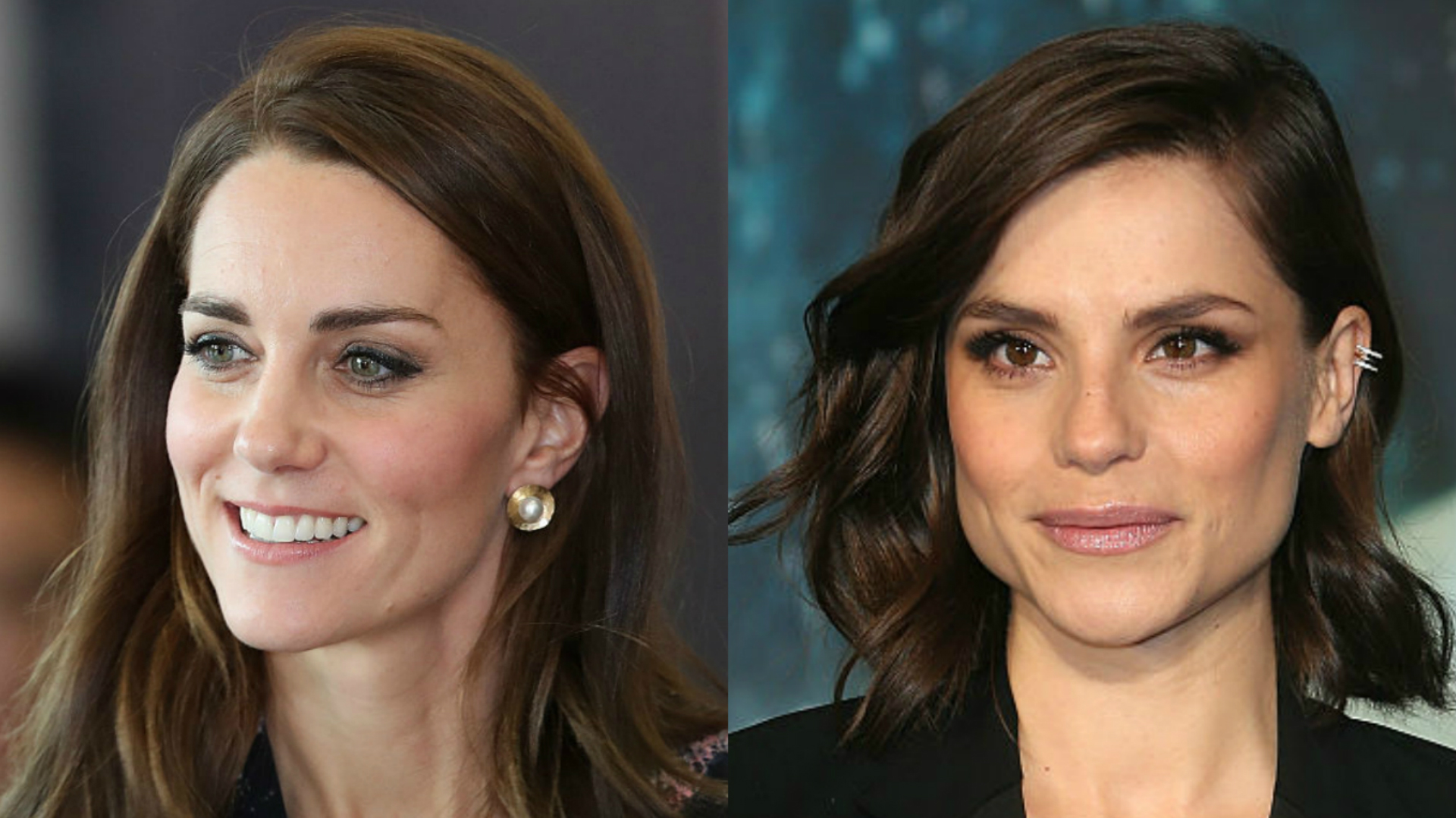 Kate Middleton and Charlotte Riley