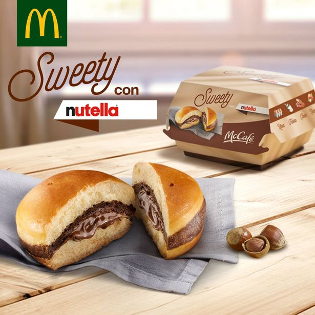 The Sweety from McDonald's.