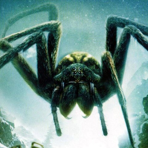 A giant spider from the film Ice Spiders