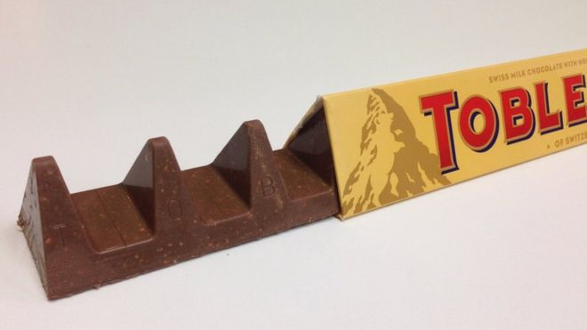 The new look Toblerone.