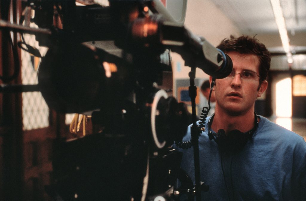 Richard Kelly behind the camera on Donnie Darko