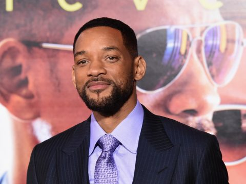 """HOLLYWOOD, CA - FEBRUARY 24: Actor Will Smith attends the Warner Bros. Pictures' """"Focus"""" premiere at TCL Chinese Theatre on February 24, 2015 in Hollywood, California. (Photo by Jason Merritt/Getty Images)"""