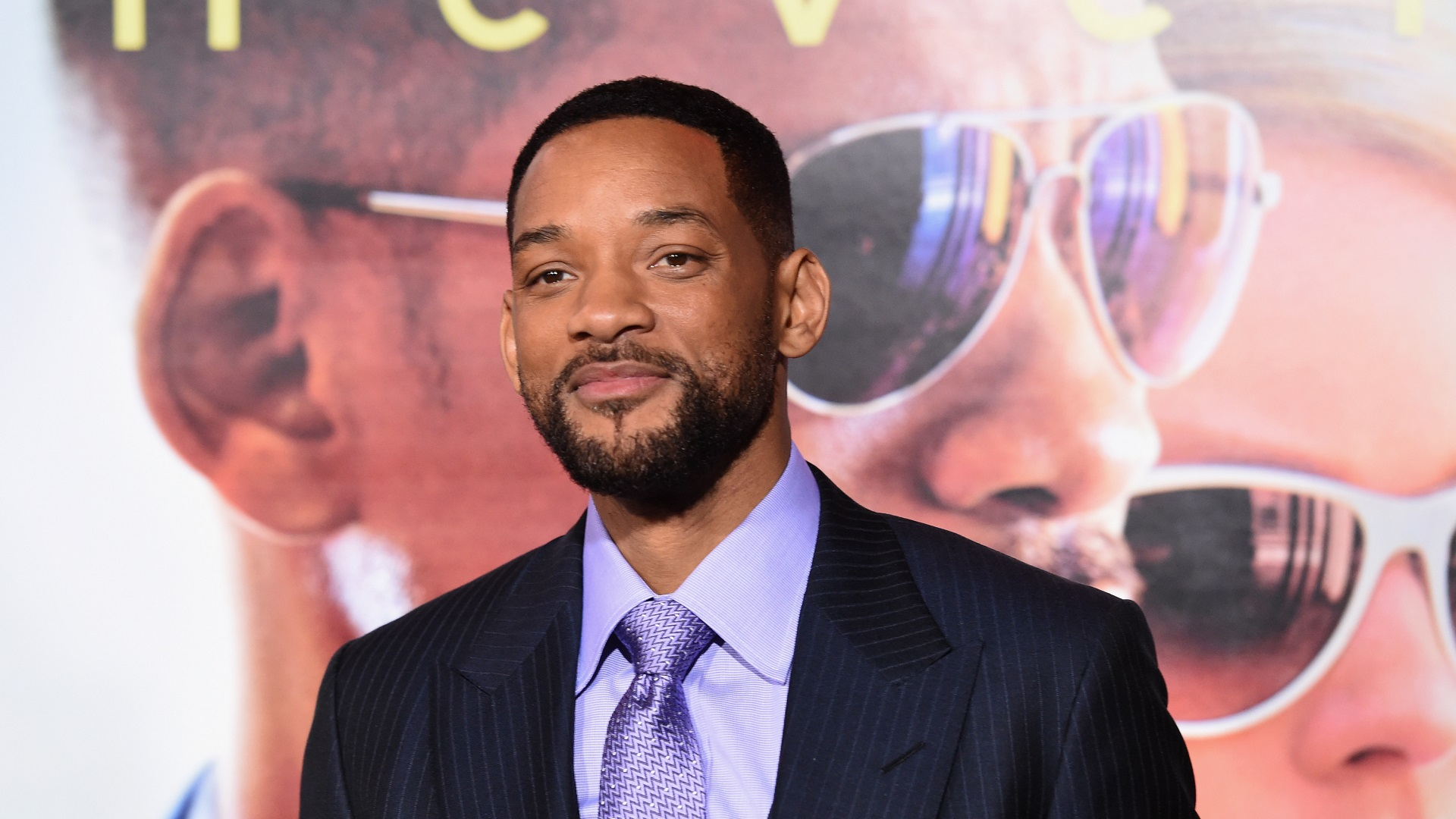 "HOLLYWOOD, CA - FEBRUARY 24: Actor Will Smith attends the Warner Bros. Pictures' ""Focus"" premiere at TCL Chinese Theatre on February 24, 2015 in Hollywood, California. (Photo by Jason Merritt/Getty Images)"