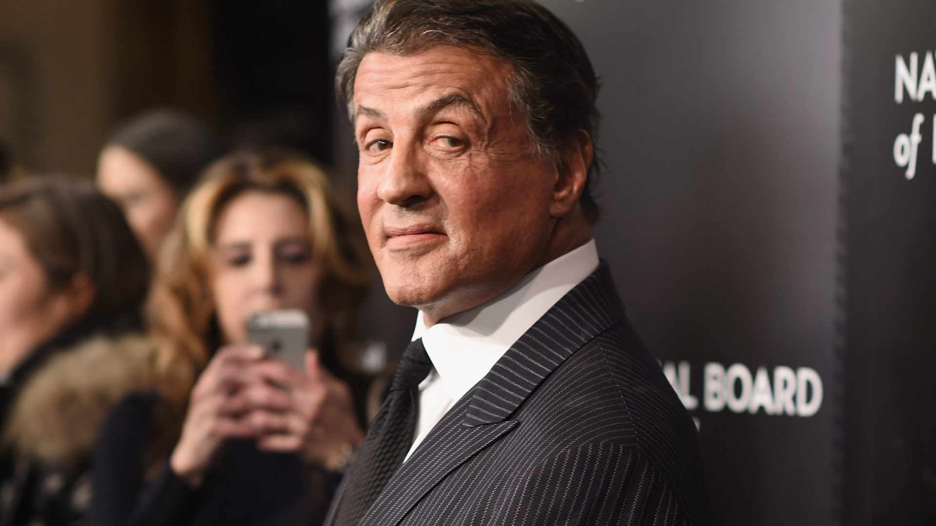 NEW YORK, NY - JANUARY 05: Actor Sylvester Stallone attends the 2015 National Board of Review Gala at Cipriani 42nd Street on January 5, 2016 in New York City. (Photo by Dimitrios Kambouris/Getty Images)