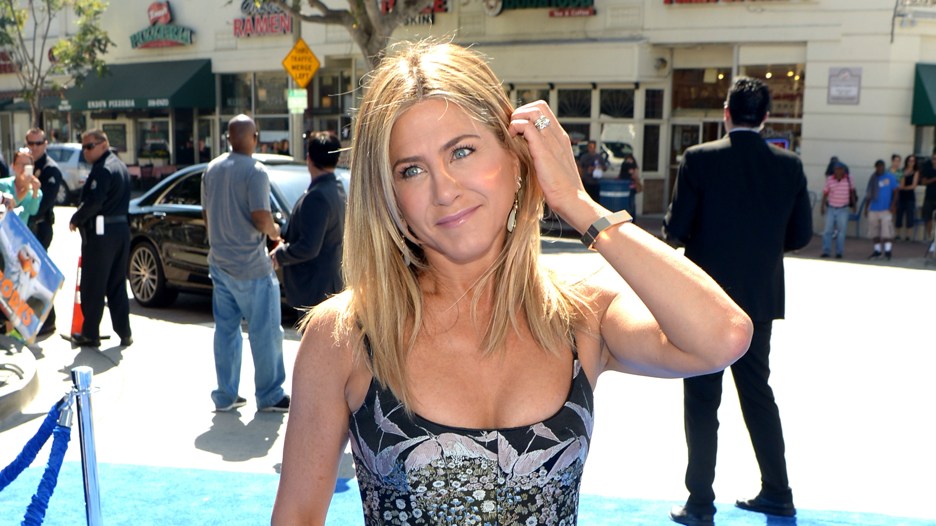 Jennifer Aniston of Friends and Hollywood fame.