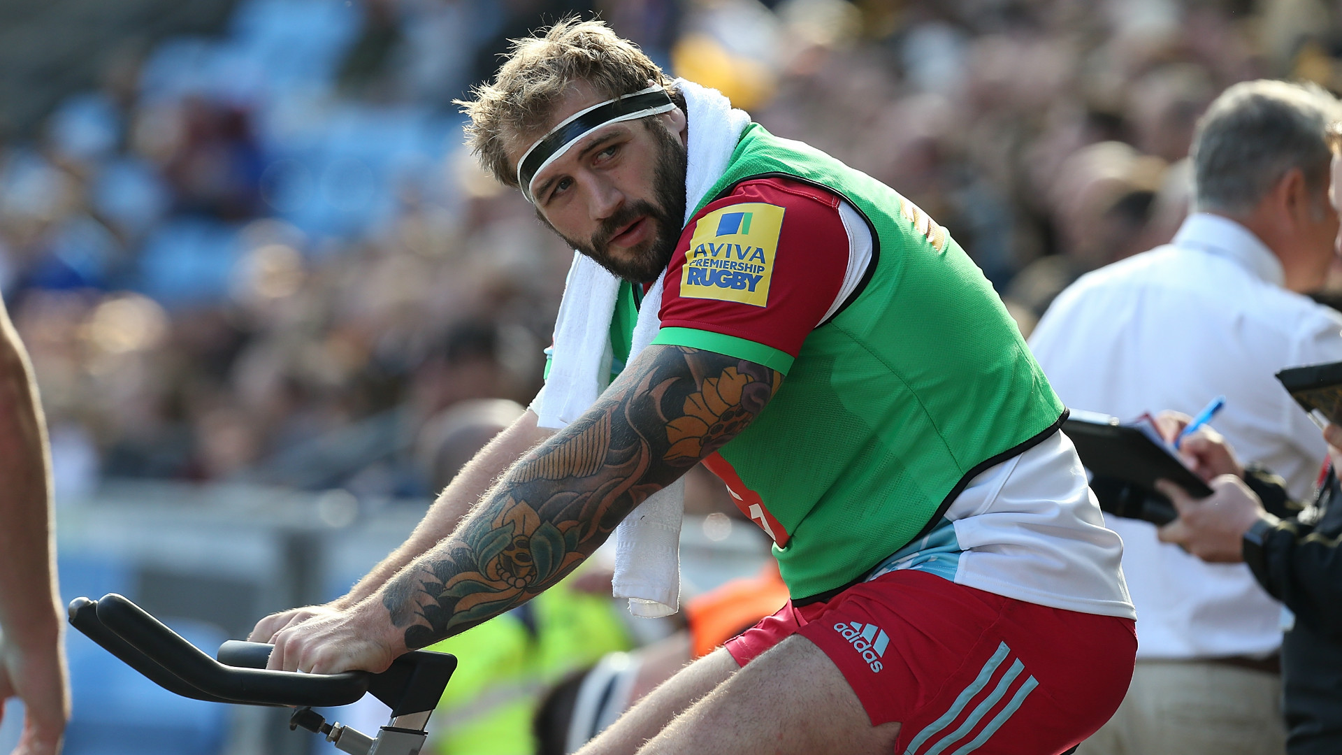 Joe Marler of Harlequins