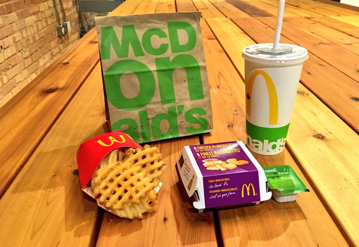 A picture from McDonald's Canada