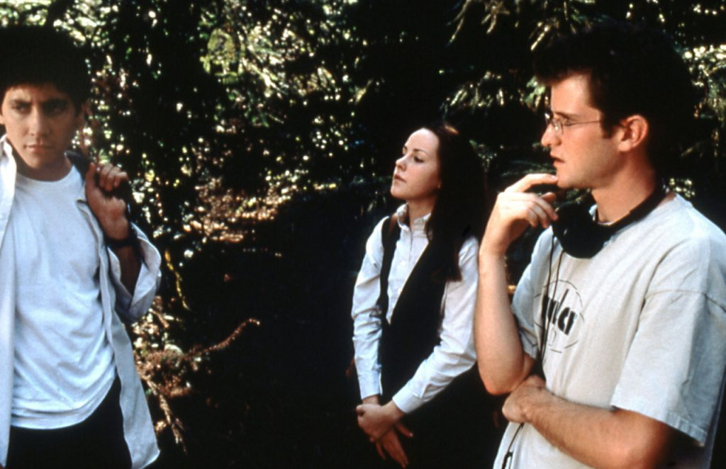Richard Kelly and Jena Malone in Donnie Darko