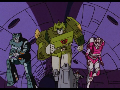 The Transformers: The Movie still.
