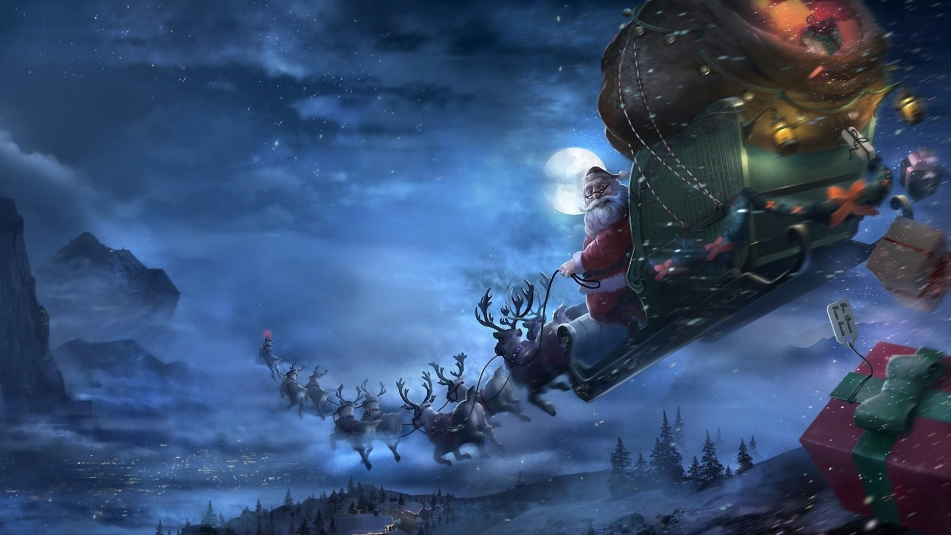 There's A Theory About Santa, Reindeer And Drugs