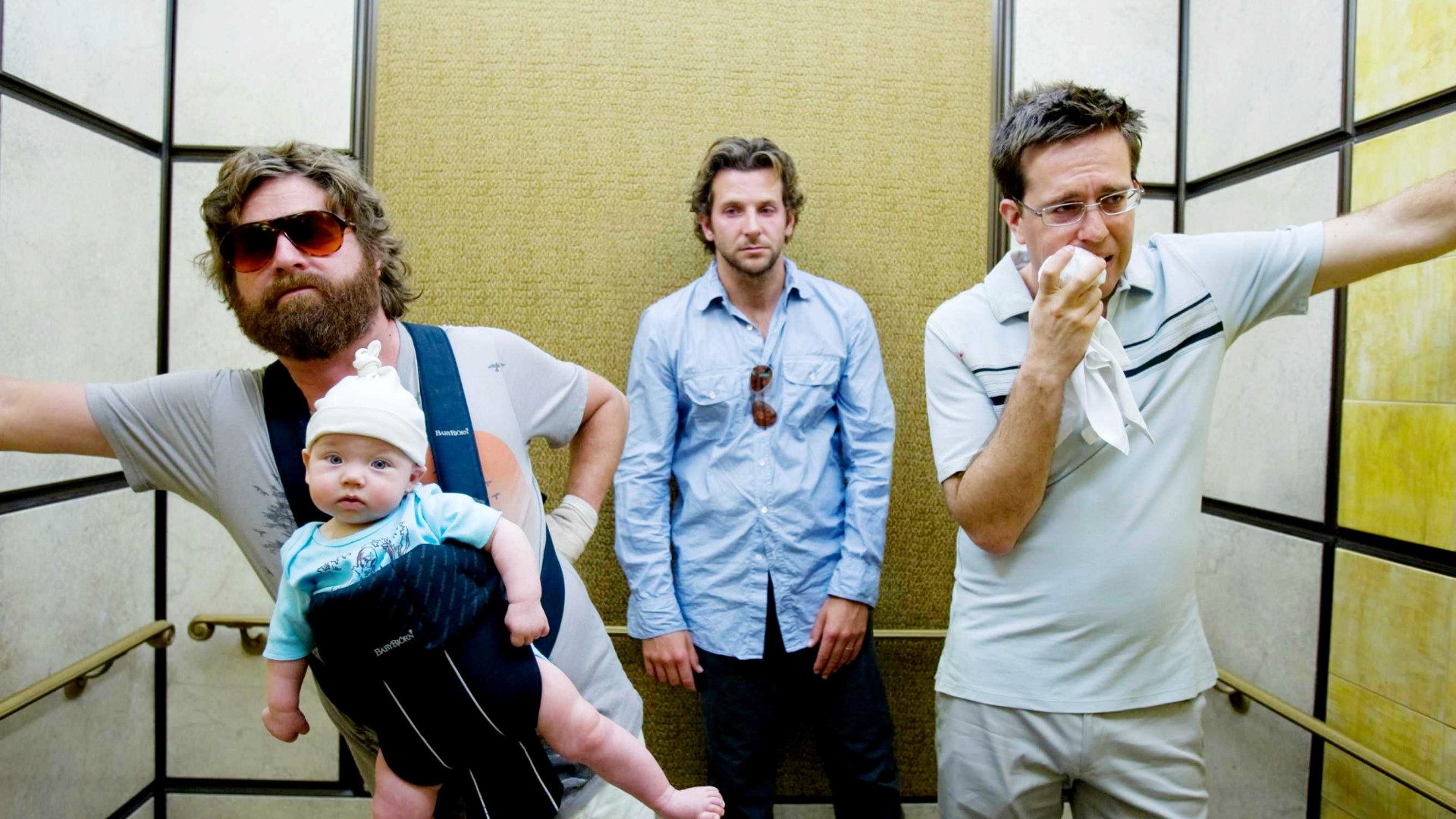 Three stars from the Hangover.